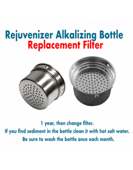 REJUVENIZER BOTTLE (Replacement Filter)