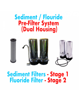 SEDIMENT/FLUORIDE CHROME FILTER