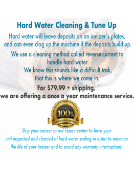 HARD WATER CLEANING