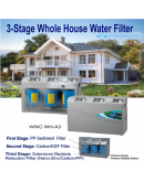 WHOLE HOUSE 3 STAGE FILTER SYSTEM